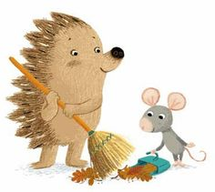 Hedgehog and mouse by Benji Davies