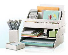 Material de trabalho bem organizado.