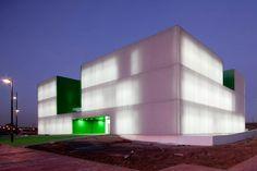 Social Services Center in Móstoles  Móstoles, Spain  A project by: dosmasunoarquitectos  #green #emerald