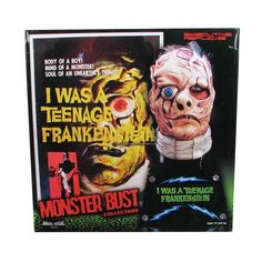 I Was a Teenage Frankestein Bust-- made from resin and stands 18 inches tall!