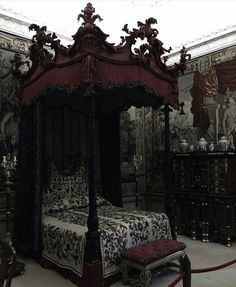 Pinterest: @MagicAndCats ☾. Gothic Bedroom ...