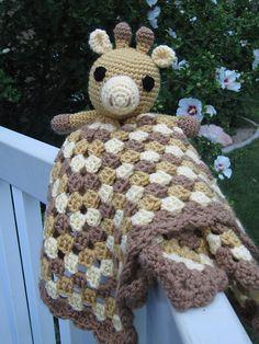 Ravelry: Giraffe Lovey pattern by Briana Olsen