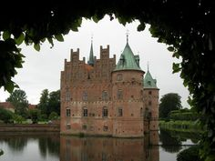 Egeskov Castle sits on the south island of Funen, Denmakr and is one of Europe's best perserved Renaissances water castles. Today the castle is home to a vintage automobile and motocycle collection along with fly vehicles and a collection of Falck and other emergency vehicles.
