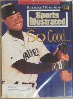 ken griffey jr seattle mariners 1994 sports illustrated from $2.0