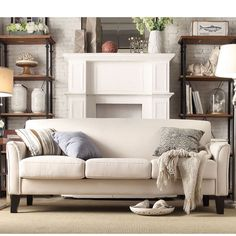 Add stylish seating to your room with this comfortable Uptown sofa. This modern piece features impeccable style with a tailored look.
