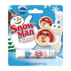 (one) Pillsbury Christmas Reindeer or Snowman Sugar Cookie Flavored Lip Balm Homemade Lip Balm, Homemade Moisturizer, Face Scrub Homemade, Bath N Body Works, Bath And Body, Pillsbury Cookie Dough, Nice Lips, Cookie Flavors, Christmas Sugar Cookies