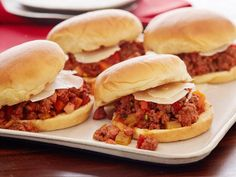 Relax and whip up these simple comfort food recipes in 30 minutes or less, including sloppy Joes, fried rice, tomato soup and more at Cooking Channel.
