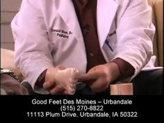 Plantar Fasciitis Relief - Foot Pain Heel Pain Arch Pain Back Pain Relief - Good Feet Des Moines - YouTube