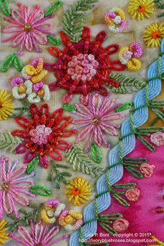 Marvelous Crewel Embroidery Long Short Soft Shading In Colors Ideas. Enchanting Crewel Embroidery Long Short Soft Shading In Colors Ideas. Bead Embroidery Patterns, Silk Ribbon Embroidery, Hand Embroidery Stitches, Crewel Embroidery, Embroidery Techniques, Embroidery Designs, Embroidery Supplies, Floral Embroidery, Crazy Quilt Stitches