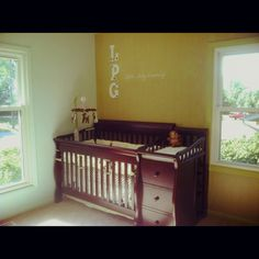 Love this crib; the attached changing table looks like pretty convenient.