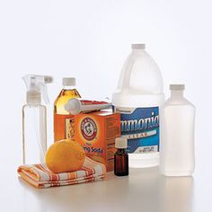 How to Make Your Own Cleaning Products - DIY Environmentally Friendly Cleaning Products
