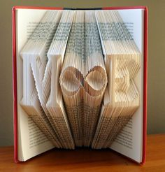 Gift for Boyfriend / Girlfriend   First by LucianaFrigerio on Etsy, $80.00 BEST book art