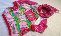 UNIKAT Jerseykleid 86/92 Versandkostenfrei von Püppeles BUNTland auf DaWanda.com