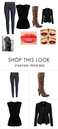 """""""Day349"""" by www-ychavez ❤ liked on Polyvore featuring H&M, G by Guess, Coast, Christian Dior Haute Couture and Topshop"""