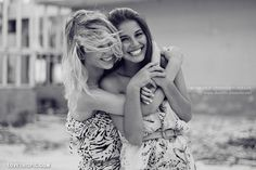 smile fashion friendship photography hair friends hug happy laugh blackandwhite bestfriends sisters bff