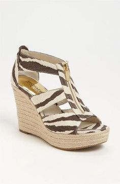 MK #sandals #wedge #shoes