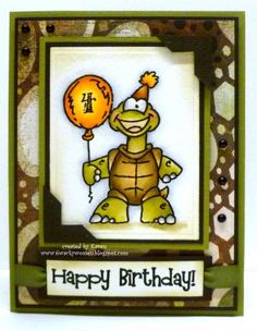 Shelbert by *1 wacky woman* - Cards and Paper Crafts at Splitcoaststampers