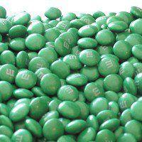 Dark Green M&Ms Candy - 5lb