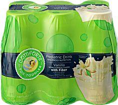 Vanilla Pediatric Nutritional Drink w/ Fiber Nutrition Drinks, Baby Essentials, Pediatrics, Kid Stuff, Infant, Vanilla, Fiber, Strawberry, Kids
