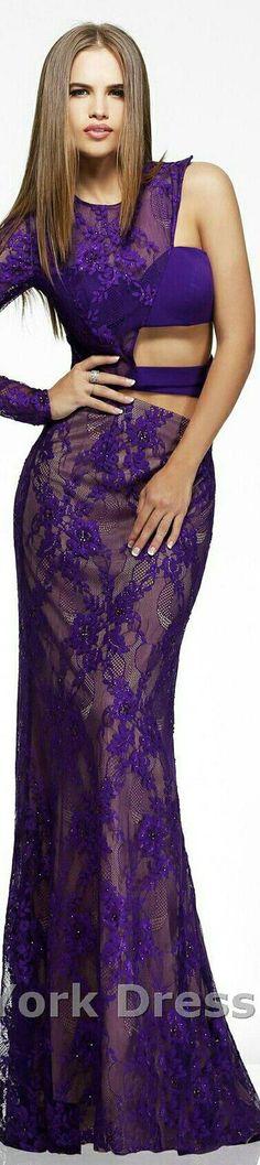 Purple Lilac, Purple Roses, Shades Of Purple, Purple Style, Purple Fashion, Colorful Fashion, Elegant Dresses, Sexy Dresses, Long Formal Gowns
