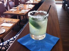 Chill out with Pier 290's signature Margarita!