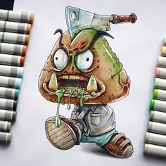 Fear the walking Goomba on Behance