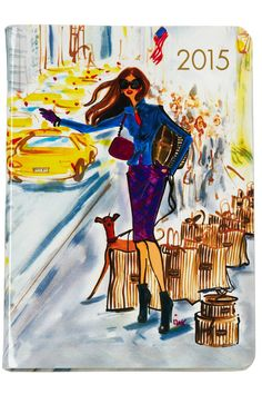 15 Stylish Planners for 2015 By: Henri Bendel Illustration Agency, Fashion Calendar, Fashion Articles, Fashion Sketches, Fashion Illustrations, Fashion Drawings, Pics Art, Style Me, Girly