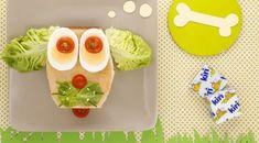 Sandwich poulet salade et fromage Kiri® - Le chien Kiri®