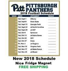 1f12e181824 Phils Shoppe. College Football ScheduleRefrigerator MagnetsPanthersMy ...