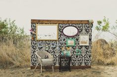 Super fun wedding photobooth! (Photo by Rebecca Amber Photography)
