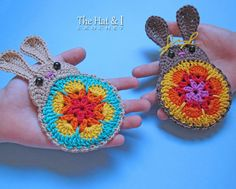 CROCHET PATTERN Bunny in Bloom a bunny by TheHatandI on Etsy