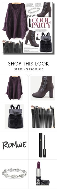 """""""Romwe6"""" by adelisa56 ❤ liked on Polyvore featuring Lancôme and Manic Panic NYC"""
