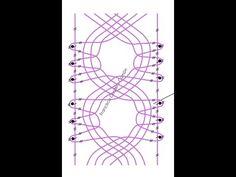 (8) 054 Encaje de Hinojosa - Punto Lleruza - Recto - YouTube