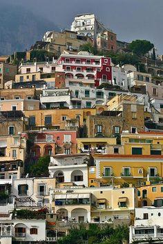 Title  Amalfi Houses   Artist  Henry Kowalski   Medium  Photograph