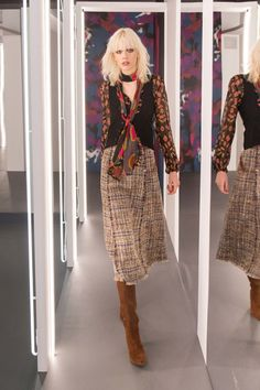 NYFW Fantasy Costuming: Diane von Furstenberg's Strong 70s Aesthetic is Ideal for Vinyl | TV Ate My Wardrobe