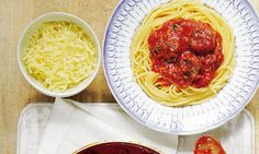Mary Berry's Absolute Favourites:Meatballs in tomato and basil sauce