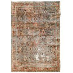 Antique Persian Bijar Rug 1