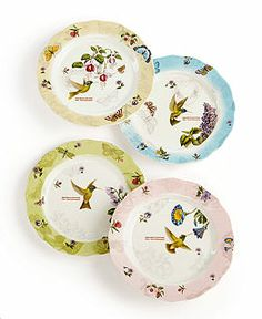 Portmeirion Serveware Botanic Hummingbird Figural Large Heart Platter - Serveware - Dining u0026 Entertaining - Macyu0027s | Portmeirion | Pinterest | Serveware ...  sc 1 st  Pinterest & Portmeirion Serveware Botanic Hummingbird Figural Large Heart ...