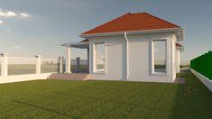 Proiect casa rezidentiala Corbeanca 3 – Profile Decorative Village House Design, Village Houses, Gazebo, House Plans, Exterior, Outdoor Structures, Outdoor Decor, Home Decor, South Africa