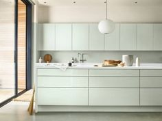 The Nordroom - Flexa Color of the Year 2020 Paint Companies, Paint Brands, Studio Kitchen, Kitchen Design, Cocina Office, Rooms To Let, Kitchen Units, Kitchen Cupboards, Kitchen Ideas