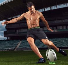 NZ's finest, Dan Carter... I would totally watch rugby if they wore this whilst playing