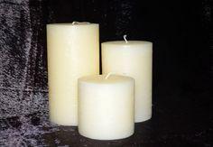 ΚΥΛΙΝΔΡΟΙ   10x10,  10x15,  10x20           ( ΣΕΤ 3 ΤΕΜΑΧΙΑ) via ΕΡΓΑΣΤΗΡΙΟ  ΚΕΡΙΩΝ. Click on the image to see more! Pillar Candles, Taper Candles, Candles