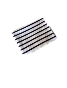Black and White Stripe Swaddle