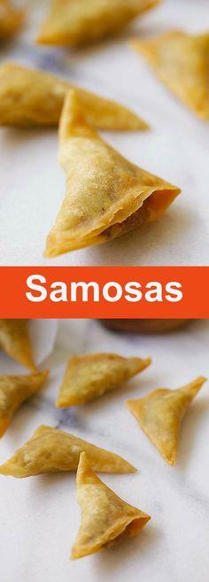 Easy Samosa – Samosa is an Indian deep-fried appetizer filled with spiced potatoes. Fail-proof samosa recipe, so good | rasamalaysia.com