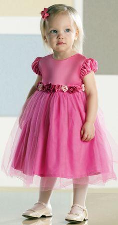 um sonho de cinderela: daminha de rosa chiclete
