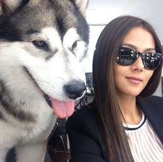 14 Cutest Selfies of Celebs With Their Pets