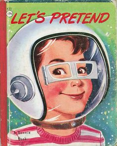 Let's Pretend, 1954.  Nan and George Pollard (cover)