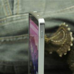 Luphie Metal Hliníkový rám nárazníku pro Google Nexus 5 Silver