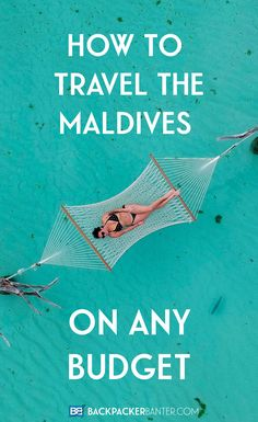 Think you have to be a millionaire to travel the Maldives? Think again! Whether you want 5* luxury or to travel the Maldives on a budget here's your complete guide - from accommodation and transport to food and activities! #Maldives Travel in the Maldives   Maldives on a Budget   Maldives Hotels   Maldives Islands