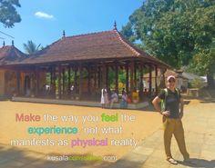 Make the way you feel the experience, not what manifests as physical reality #feelings #feelingthefeeling #experience #vibration #youcreateyorureality #mindsetconsultant #lifecoach #speaker #author #digitalnomad #remoteliving #traveling #srilanka #kandy